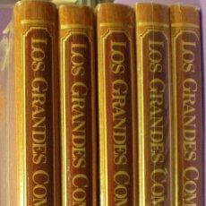 Catálogos de Música: LOS GRANDES COMPOSITORES - SALVAT - 5 TOMOS - PRECINTADOS. Lote 49391435