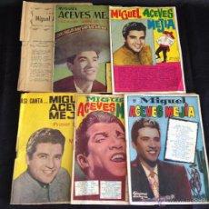 Catálogos de Música: LOTE 7 CANCIONEROS ORIGINALES MIGUEL ACEVES MEJÍA.. Lote 49699426