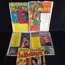 Catálogos de Música: LOTE 5 CANCIONEROS ORIGINALES.. Lote 49699475