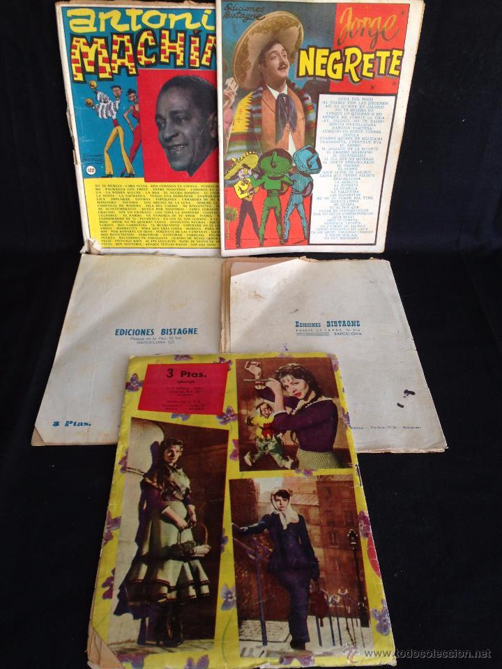 Catálogos de Música: LOTE 5 CANCIONEROS ORIGINALES. - Foto 2 - 49699475