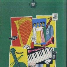 Catálogos de Música: CATÁLOGO HISPAVOX DE GRABACIONES EXTRANJERAS 1959. Lote 50017978