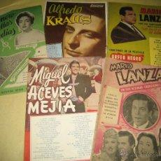 Catálogos de Música: LOTE DE 5 CANCIONEROS - VER FOTO. Lote 50160166