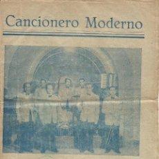 Catálogos de Música: CANCIONERO MODERNO 60 CANCIONES CANCION MODERNA ORQUESTA LOS MANIATICOS DEL RITMO DE LERIDA AÑOS 50 . Lote 50197134