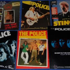 Catálogos de Música: THE POLICE - OFFICIAL PROGRAMME - TOUR 81 82 - GHOST IN THE MACHINE. Lote 50343718
