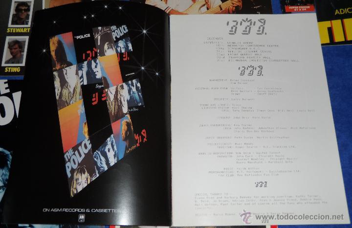 Catálogos de Música: The police - Official Programme - Tour 81 82 - Ghost in the machine - Foto 2 - 50343718