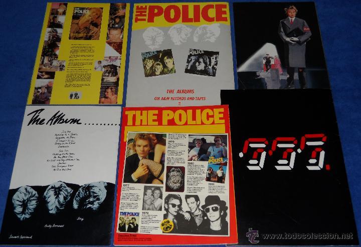 Catálogos de Música: The police - Official Programme - Tour 81 82 - Ghost in the machine - Foto 4 - 50343718