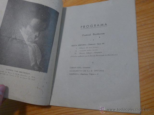 Catálogos de Música: Antiguo catalogo palacio de la musica de barcelona, 1942 - Foto 3 - 50599761