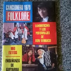 Catálogos de Música: CANCIONERO 1979 FOLKLORE - 100 EXITOS - ARGENTINA - 1979 - MUY RARO. Lote 50782938