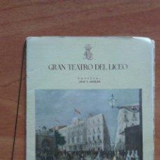 Catálogos de Música: LICEO BARCELONA - PROGRAMA FEBRERO 1948 - LICEO BARCELONA. Lote 50863417
