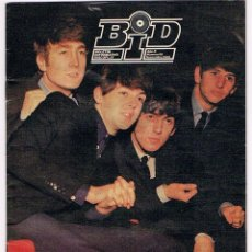 Catálogos de Música: BEATLES - PAUL MCCARTNEY - BID - BOLETIN INFORMATIVO 1989. Lote 50952895