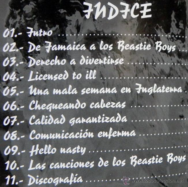 Catálogos de Música: Beastie Boys white cool factory - LIBRO IMÁGENES DE ROCK MÁSCARA - GRUPO MÚSICA HIP HOP PÓSTER FOTOS - Foto 2 - 51216503