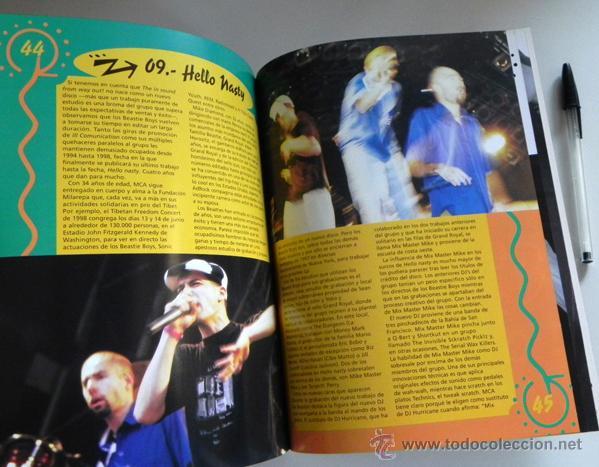 Catálogos de Música: Beastie Boys white cool factory - LIBRO IMÁGENES DE ROCK MÁSCARA - GRUPO MÚSICA HIP HOP PÓSTER FOTOS - Foto 5 - 51216503