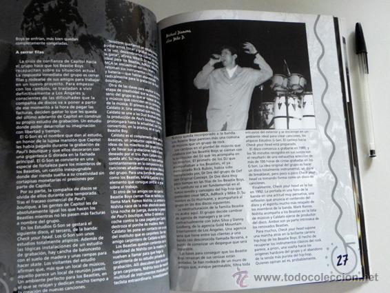 Catálogos de Música: Beastie Boys white cool factory - LIBRO IMÁGENES DE ROCK MÁSCARA - GRUPO MÚSICA HIP HOP PÓSTER FOTOS - Foto 7 - 51216503