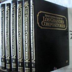 Catálogos de Música: ENCICLOPEDIA SALVAT DE LOS GRANDES COMPOSITORES. Lote 51442141