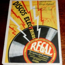 Musikkataloge - Catálogo Regal discos eléctricos Impresión Viva Tonal, Suplemento n. 57, Octubre de 1928, 8 pag. mid - 51591821