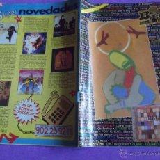 Catálogos de Música: BID-O15-BOLETIN INFORMATIVO DISCOPLAY-Nº140-NOVIEMBRE 95-PAGINAS 96. Lote 51622952