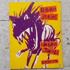 Catálogos de Música: CATALOGO ROLLING STONES -- URBAN JUNGLE - EUROPE 1990 ( VER IMÁGENES ADICIONALES). Lote 51783176