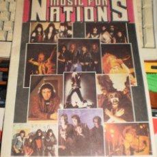 Catálogos de Música: MUSIC FOR NATIONS CATALOGO-REVISTA.HEAVY METAL.VER FOTOS. Lote 52124546