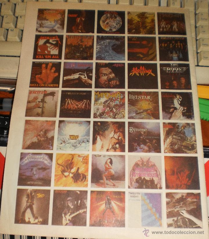 Catálogos de Música: MUSIC FOR NATIONS CATALOGO-REVISTA.HEAVY METAL.VER FOTOS - Foto 2 - 52124546