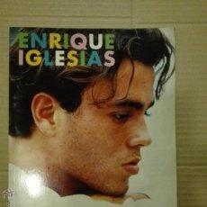 Catálogos de Música: ENRIQUE IGLESIAS - ANA G GONZALO EDITORIAL LA MASCARA COMO NUEVO CONTIENE POSTER. Lote 52704936
