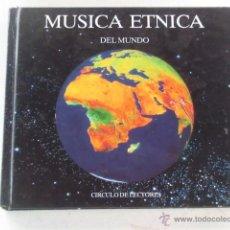 Catálogos de Música: MÚSICA ÉTNICA DEL MUNDO - LIBRO FORMATO CD SOBRE LA MÚSICAS ÉTNICAS POR PAÍSES. Lote 52732138