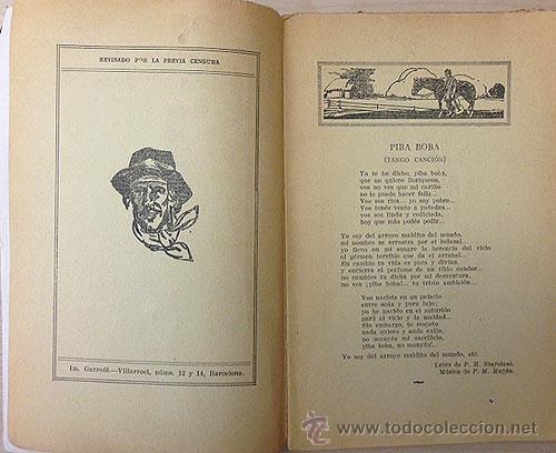 Catálogos de Música: ´Los 100 mejores tangos´. Antiguo Cancionero editado en Barcelona c 1930 - Foto 3 - 53107348