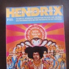 Catálogos de Música: LIBRO DE ACORDES HENDRIX / AXIS BOLD AS LOVE / 1989. Lote 53184960