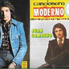 Catálogos de Música: CANCIONERO MODERNO * JUAN CAMACHO *. Lote 53416580