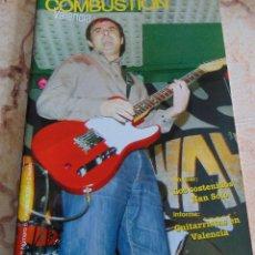 Catálogos de Música: FANZINE COMBUSTION VALENCIA - NUMERO 6 - VERANO 2006 - NUEVO. Lote 53472707