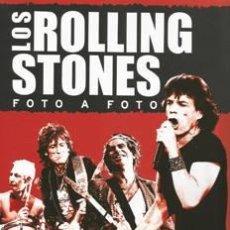 Catálogos de Música: LOS ROLLING STONES FOTO A FOTO LIBRO PRECINTADO. Lote 53575383