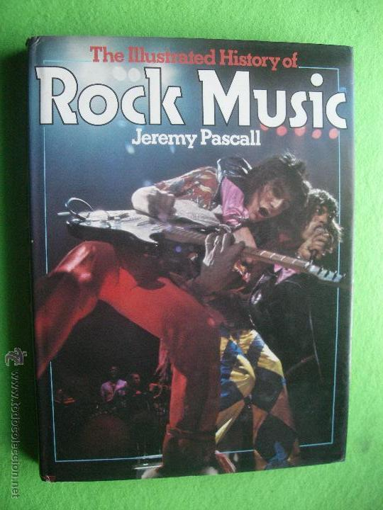 EDITORIAL HAM ROCK MUSIC ILUSTRATED FOTOGRAFIAS DE JEREMY PASCALL 1978 PDELUXE (Música - Catálogos de Música, Libros y Cancioneros)
