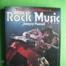Catálogos de Música: EDITORIAL HAM ROCK MUSIC ILUSTRATED FOTOGRAFIAS DE JEREMY PASCALL 1978 PDELUXE. Lote 53604849