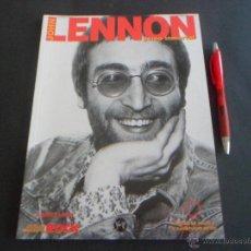 Catálogos de Música: JOHN LENNON GENIO INMORTAL - EDITORIAL LA MÁSCARA - CON POSTER --- AUTOR: ANDRES LOPEZ - 80 PAGS. Lote 53836619