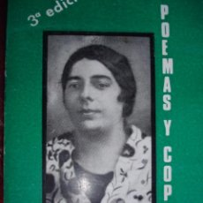 Catálogos de Música: POEMAS Y COPLAS. EUGENIO CARRASCO.1976.171 PG.DEDICATORIA AUTOR.FLAMENCO. Lote 53995072