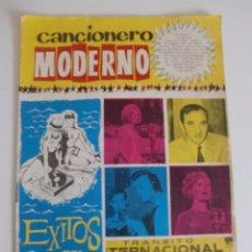 Catálogos de Música: CANCIONERO MODERNO EXITOS DEL VERANO / EDICIONES ESTE 1964. Lote 54115870