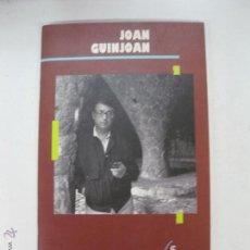Catálogos de Música: JOAN GUINJOAN. CATALOGOS DE COMPOSITORES ESPAÑOLES. . Lote 54242565