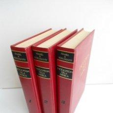Catálogos de Música: ENCICLOPEDIA DE LA MUSICA - 3 TOMOS - FRED HAMEL Y MARTIN HÜRLIMANN - ED. GRIJALBO - 1979. Lote 54265239
