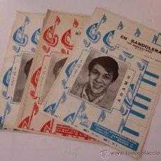 Catálogos de Música: ADAMO - TRES CANCIONEROS DE EDICIONES GRAMOFONO-ODEON. Lote 54282167