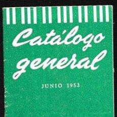 Catálogos de Música: CATÁLOGO GENERAL * CANCIONES DEL MUNDO * JUNIO 1953 - DIRECTOR AUGUSTO ALGUERÓ. Lote 54412071