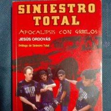 Cataloghi di Musica: SINIESTRO TOTAL APOCALIPSIS CON GRELOS ORDOVÁS, JESÚS 232 PÁGINAS (GUÍA DE LA MÚSICA,1993). Lote 54491916