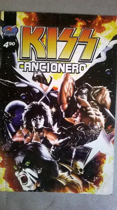 KISS - CANCIONERO - EDICIONES RAQUEL - ARGENTINA - 2007 - RARO Y ESCASO MATERIAL (Música - Catálogos de Música, Libros y Cancioneros)