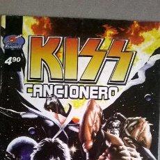 Catálogos de Música: KISS - CANCIONERO - EDICIONES RAQUEL - ARGENTINA - 2007 - RARO Y ESCASO MATERIAL. Lote 54596360
