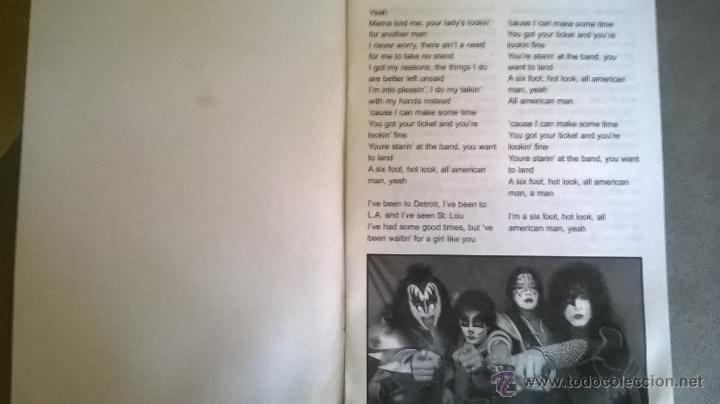 Catálogos de Música: KISS - CANCIONERO - Ediciones Raquel - Argentina - 2007 - RARO Y ESCASO MATERIAL - Foto 2 - 54596360