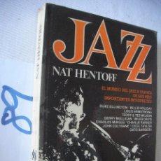 Catálogos de Música: ANTIGUO LIBRO - JAZZ - NAT HENTOFF. Lote 54632937