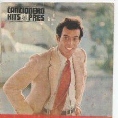 Catálogos de Música: CANCIONERO HITS PRES - *JULIO IGLESIAS* - 1970. Lote 54936257