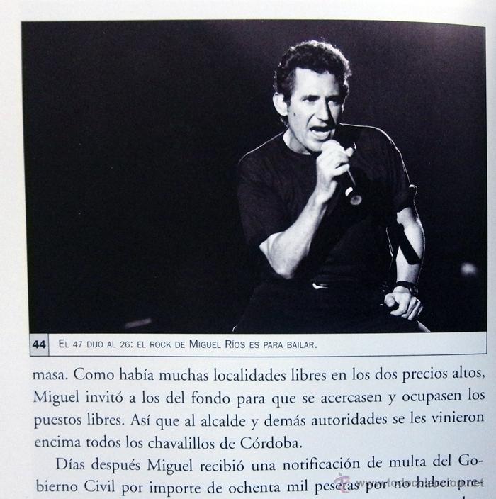 Catálogos de Música: DIARIO DE RUTA EL GUSTO ES NUESTRO - LIBRO CONCIERTO ANA BELÉN JOAN MANUEL SERRAT MIGUEL RÍOS MÚSICA - Foto 4 - 54993105