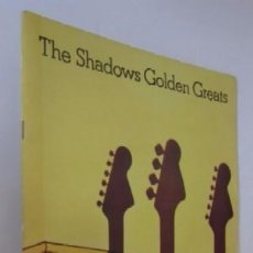Catálogos de Música: THE SHADOWS GOLDEN GREATS. Lote 55050966