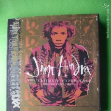 Catálogos de Música: BOXTREE JIMI HENDRIX-THE ULTIMATE EXPERIENCE AUTOR:ADRIAN BOOT 1995 PDELUXE. Lote 55127994