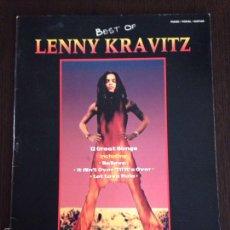 Catálogos de Música: LIBRO DE ACORDES BEST OF LENNY KRAVITZ / 1994. Lote 55399213