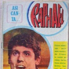 Catálogos de Música: ASI CANTA RAPHAEL - CANCIONERO - EDITORIAL ALAS 1967. Lote 55917974
